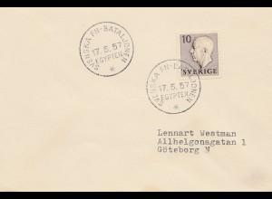 Schweden: 1957: Svenska FN Bataljonen, Egypten nach Göteborg