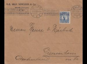 Schweden: 1912: Malmö