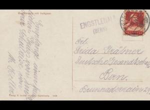 Schweiz: 1921: Engstlenalb Ansichtskarte