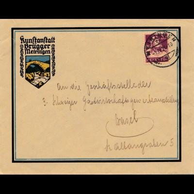 Schweiz: 1921: Meiringen nach Basel