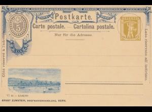 Schweiz: 1894: Ganzsache