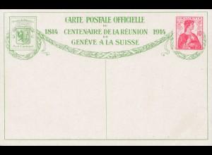 Schweiz: 1914: Ganzsache mit Bild Nr. 7