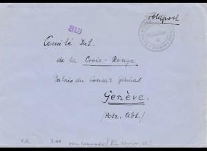 Schweiz: Feldpost nach Genf