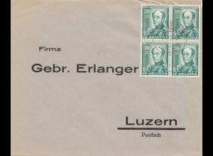 Schweiz:Olten 1937 nach Luzern