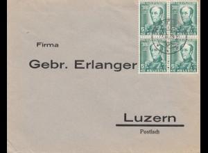 Schweiz: 1937: Olten nach Luzern