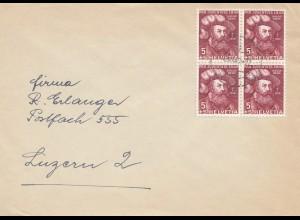 Schweiz: 1949: Olten nach Luzern