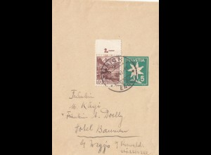 Schweiz: 1940: Streifband Zürich