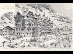 Schweiz: Ansichtskarte Adelboden