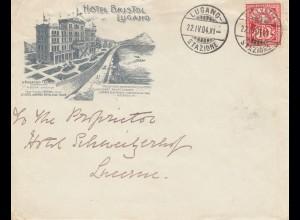 Schweiz: 1904: Lugano nach Luzern