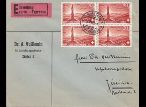Schweiz: 1942: Zürich, Eilboten