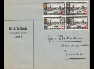 Schweiz: 1942: Zürich innerorts