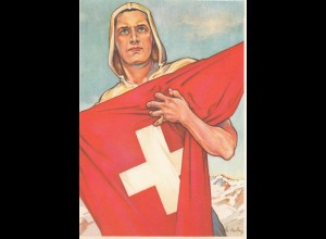 Schweiz: 1941: Zürich, 650 Jahre Eidgenossenschaft, schöne Karte