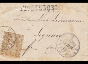 Schweiz: 1875: Ueberstorf