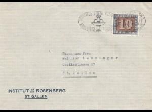 Schweiz: 1945. St. Gallen, Institut Rosenberg