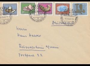 Schweiz: 1960: Engelberg nach Rüsselsheim,