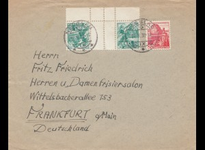 Schweiz: 1938: Nesslau nach Frankfurt