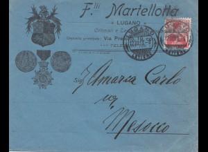 Schweiz: 1913: Lugano nach Mesocco