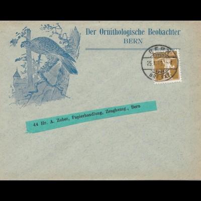 Schweiz: 1909: Bern, Ornithologischer Beobachter, Vögel