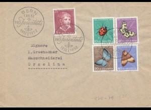 Schweiz: 1952: Bern FDC