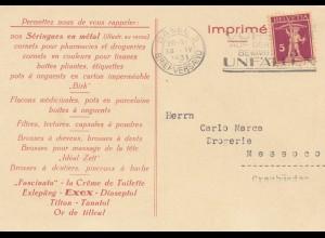 Schweiz: 1931: Basel nach Messoco