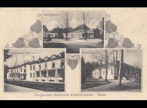 Schweiz: 1934: Ansichtskarte Aarau