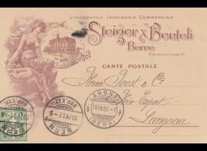 Schweiz: 1907: Bern nach Langnau