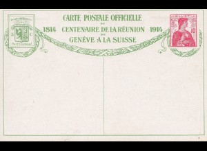 Schweiz: Ganzsache: 1914: Bild Nr. 9