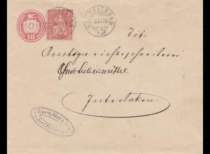 Schweiz: 1876: Steffisburg