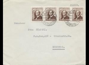 Spanien: 1963: Brief Irun nach Zürich