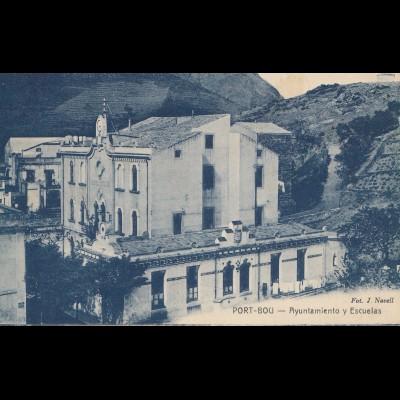 Spanien: Ansichtskarte Port Bou