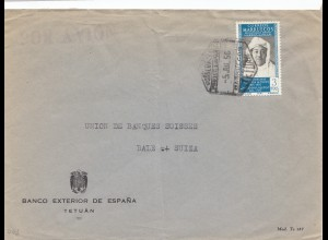 Spanien: 1956: Tetuan nach Basel