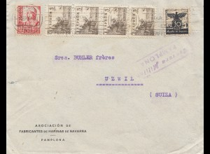 Spanien: 1937: Pamplona nach Uzwil
