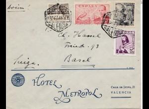 Spanien: 1948: Valencia nach Basel
