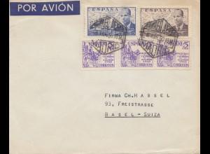 Spanien: 1950: Madrid nach Basel
