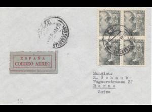 Spanien: 1949: Luftpost San Sebastian nach Bern