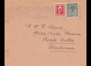 Spanien: 1933: Barcelona nach Mallorca