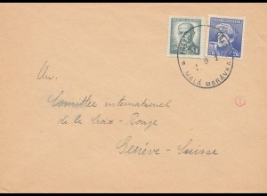 Tschecheslowakei: 1946: Mala Moravka nach Genf