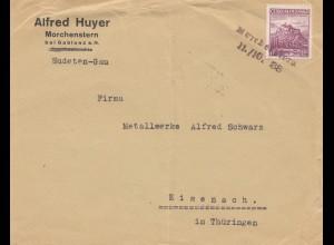 Tschecheslowakei: 1938: Morchenstern nach Eisenach