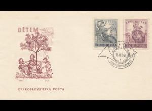 Tschecheslowakei: 1949: FDC