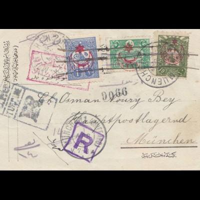 Türkei: 1916: Brief nach München
