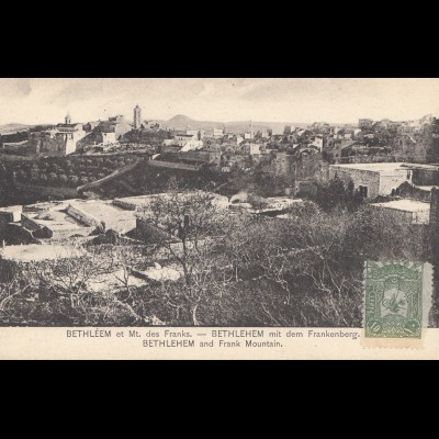 Türkei: Ansichtskarte Bethlehem