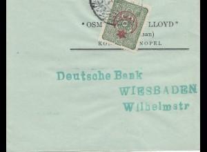 1916: Streifband nach Wiesbaden