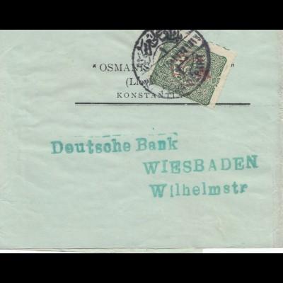 Streifband nach Wiesbaden 1916