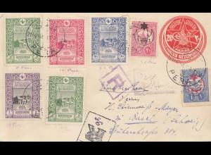 Türkei: 1916: Einschreiben nach Basel
