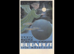 Ungarn: 1938: Sonderkarte Budapest