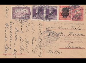 Ungarn: 1921: Ganszache nach Parma
