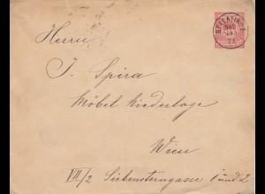 Ungarn: 1901: Bellatinoz nach Wien