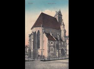Ungarn: 1916: Ansichtskarte Kassa