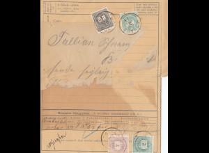 Ungarn: 1892: Ganzsache