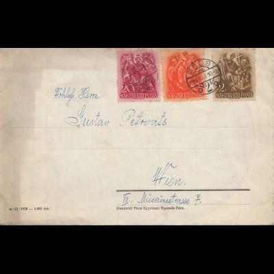 Ungarn: 1938: Pecs nach Wien, mit Inhalt Festspiele